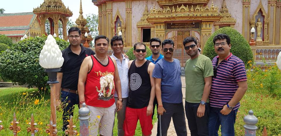 IB solar'a distributors having good time in Phuket as part of annual Sales