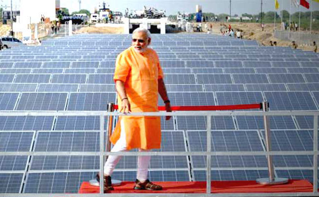 Modi's global solar ties set to brighten with Macron push