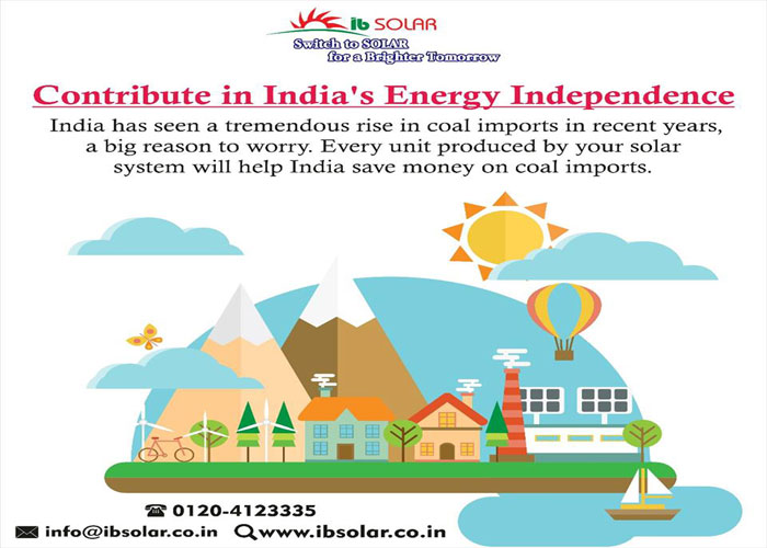 Contribute in India's Energy Independance
