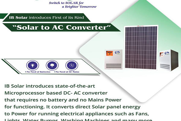 IB Solar introduces