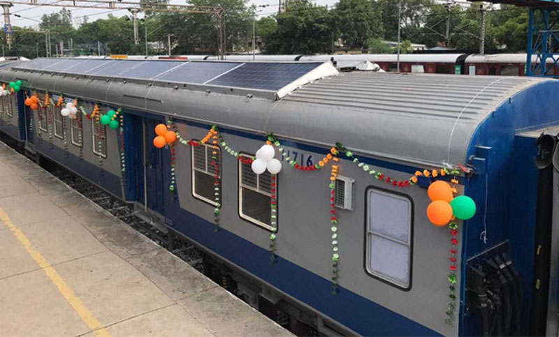 Indian Railways takes big step towards Clean Energy! Solar Panels to be fitted on Passenger Trains; here's why