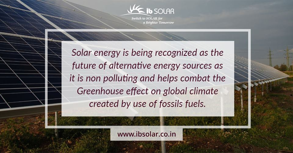 Solar Energy is Being Recognized as The Future of Alternative Energy
