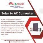 Solar to AC Converter