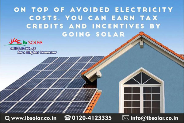 On top of avoided electricity costs, you can earn tax credits and incentives by going solar.