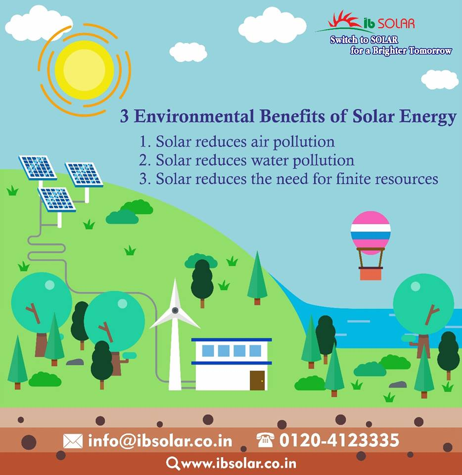 3 Environmental Benefits of Solar Energy
