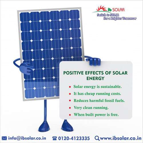 POSITIVE EFFECTS OF SOLAR ENERGY