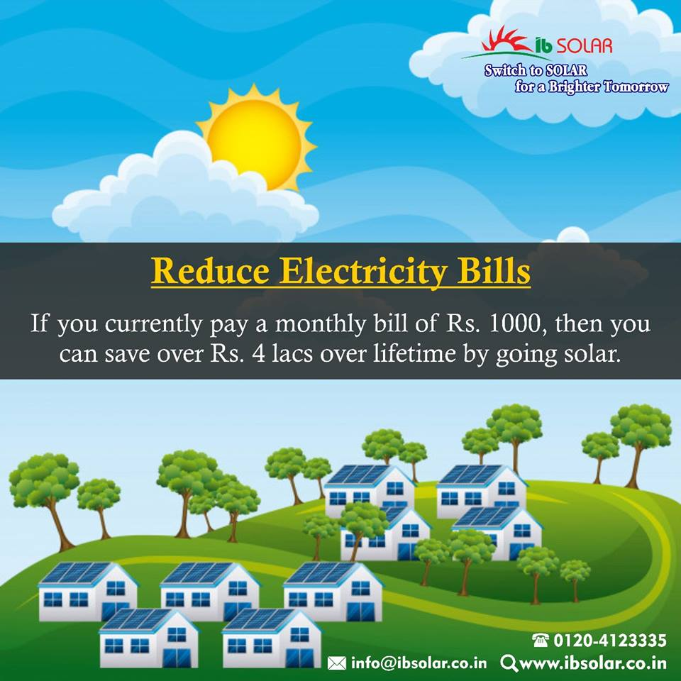 Reduce Electricity Bills