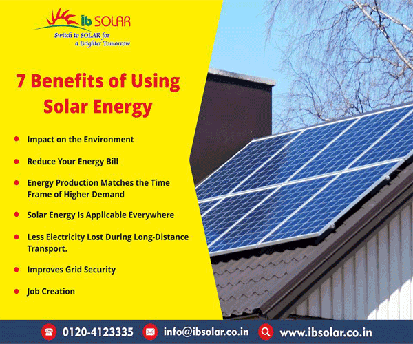 7 Benefits of Using Solar Energy