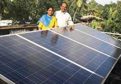 Kerala : How a Rooftop Solar Power Plant saved lives in Times of Deluge