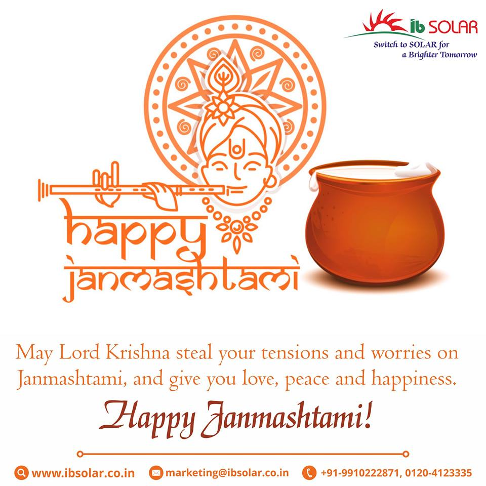 Happy Janmashtami!