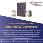 IB Solar introduces state