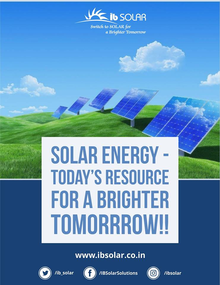 Solar Energy – Today's Resource for a Brighter Tomorrow