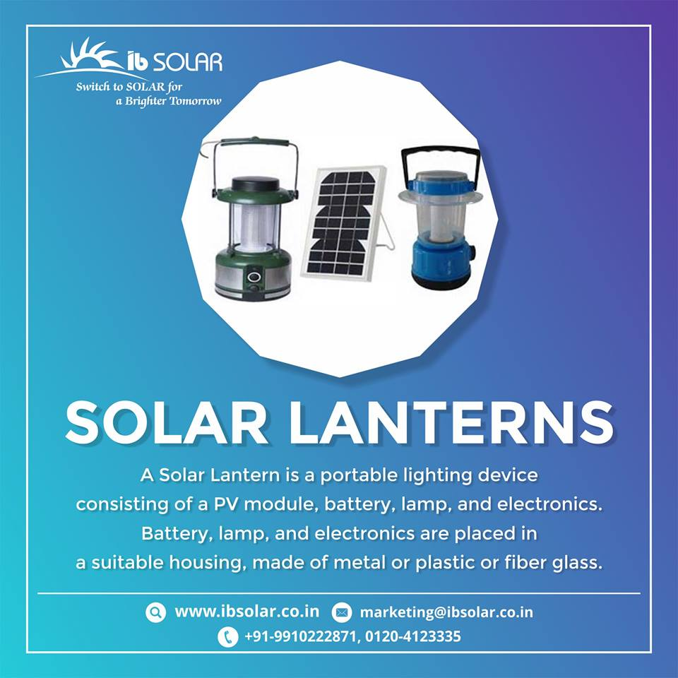 Solar Lanterns in Noida