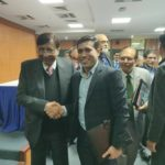 Mr. Abhinav Mahajan with Amity University Founder