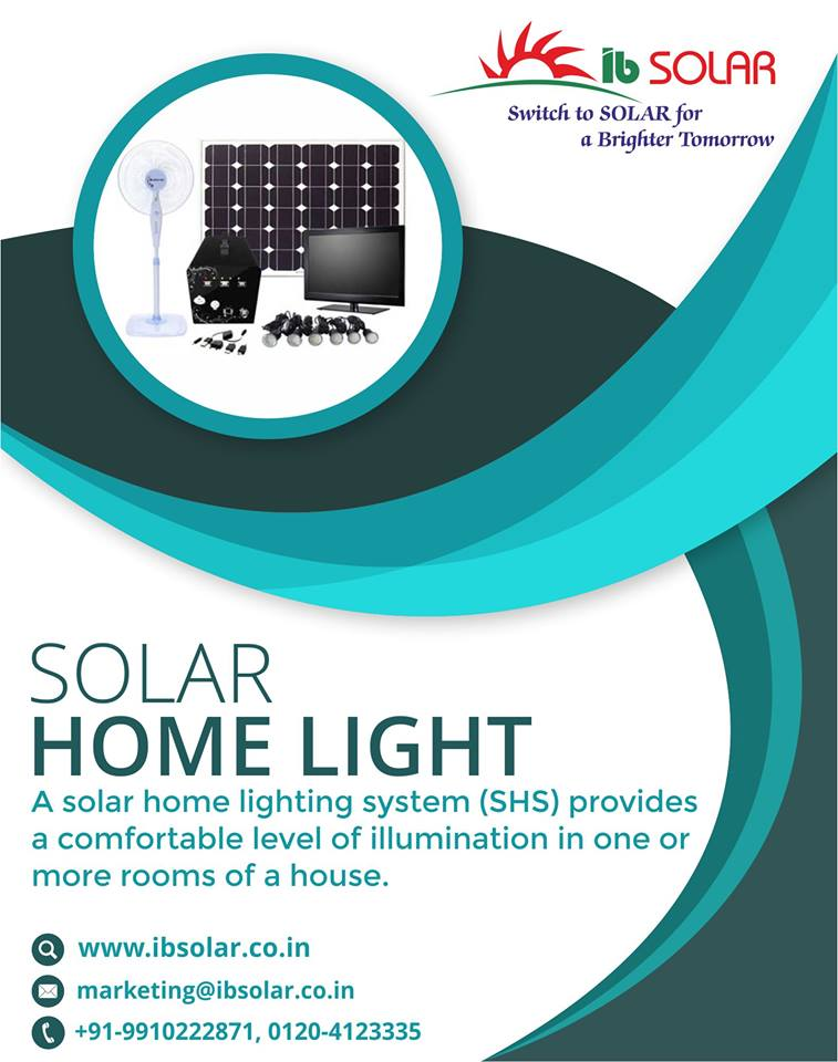 Solar Home Light Manufacturers in Noida