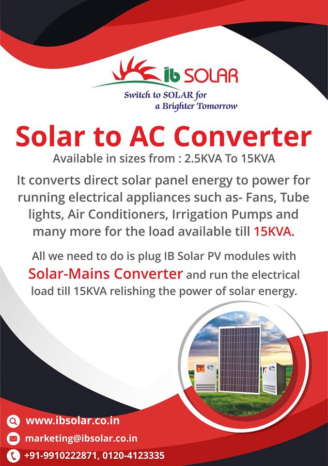 Solar to AC Converter in North India
