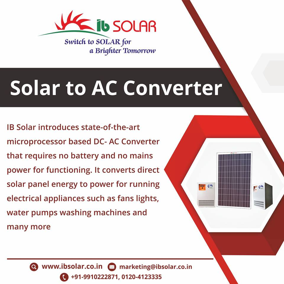 Solar to AC Converter in Noida