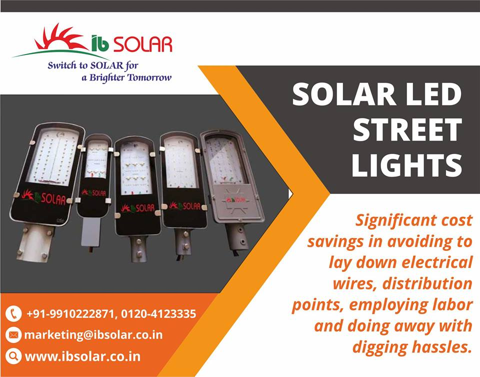 Solar LED Street Lights in India