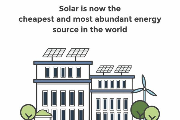 Solar is now the cheapest