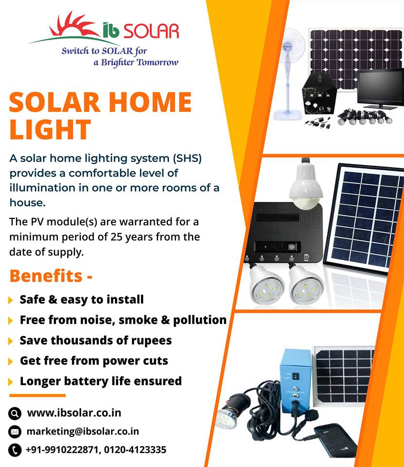 Solar Home Light in India